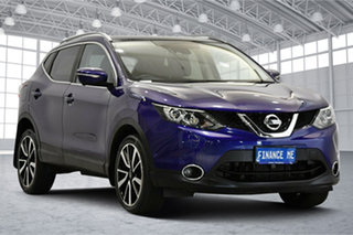 2014 Nissan Qashqai J11 TI Blue 1 Speed Constant Variable Wagon.