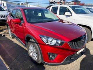 2014 Mazda CX-5 KE1071 MY14 Maxx SKYACTIV-Drive Sport Red 6 Speed Sports Automatic Wagon.