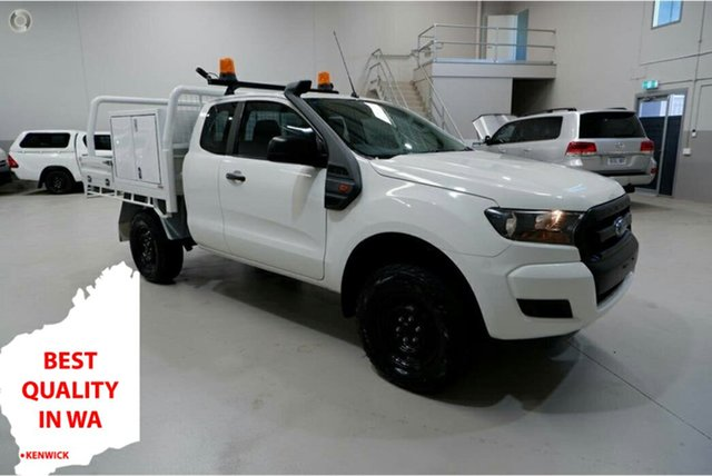 Used Ford Ranger PX MkII XL Kenwick, 2016 Ford Ranger PX MkII XL White 6 Speed Sports Automatic Cab Chassis
