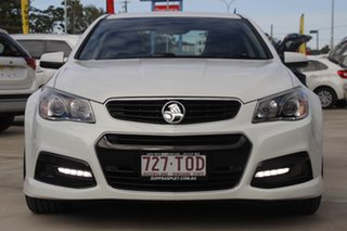 2013 Holden Commodore VF MY14 SV6 White 6 Speed Sports Automatic Sedan.