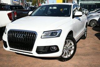 2014 Audi Q5 8R MY15 2.0 TFSI Quattro White 8 Speed Automatic Wagon.