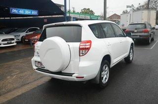 2011 Toyota RAV4 ACA38R CV (2WD) White 5 Speed Manual Wagon.