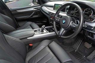 2016 BMW X5 F15 xDrive30d Mineral White 8 Speed Sports Automatic Wagon.