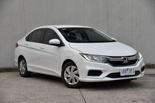 2020 Honda City GM MY20 VTi White 5 Speed Manual Sedan.