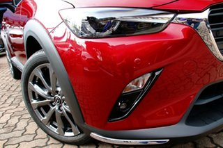 2021 Mazda CX-3 DK4W7A Akari SKYACTIV-Drive i-ACTIV AWD LE Soul Red Crystal 6 Speed Sports Automatic.