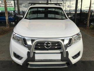 2016 Nissan Navara NP300 D23 ST (4x4) White 6 Speed Manual Dual Cab Utility.