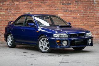 2000 Subaru Impreza N MY00 WRX AWD Dark Blue 5 Speed Manual Sedan.