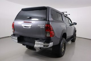 2019 Toyota Hilux GUN126R MY19 SR5 (4x4) Graphite 6 Speed Automatic Double Cab Pick Up