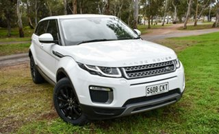 2015 Land Rover Range Rover Evoque L538 MY16 TD4 150 SE White 9 Speed Sports Automatic Wagon.