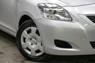 2011 Toyota Yaris NCP93R MY11 YRS Silver 4 Speed Automatic Sedan.
