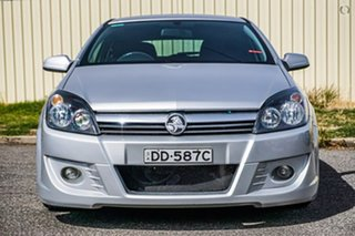 2005 Holden Astra AH MY06 CD Silver 4 Speed Automatic Coupe.