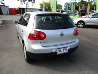 2006 Volkswagen Golf FSI Silver 5 Speed Auto Active Select Hatchback