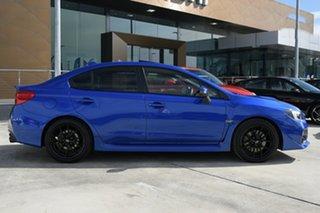 2016 Subaru WRX V1 MY16 Premium Lineartronic AWD Blue 8 Speed Constant Variable Sedan.
