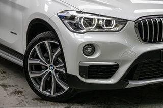2016 BMW X1 F48 xDrive25i Steptronic AWD Alpine White 8 Speed Sports Automatic Wagon.