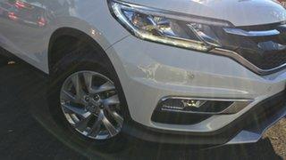 2015 Honda CR-V RM Series II MY16 VTi-S White 5 Speed Sports Automatic Wagon.