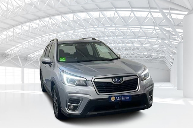 Used Subaru Forester S5 MY19 2.5i Premium CVT AWD Moorebank, 2019 Subaru Forester S5 MY19 2.5i Premium CVT AWD Ice Silver Metallic 7 Speed Constant Variable