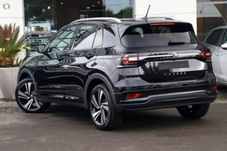 2020 Volkswagen T-Cross C1 MY21 85TSI DSG FWD Style Deep Black Pearl Effect 7 Speed.