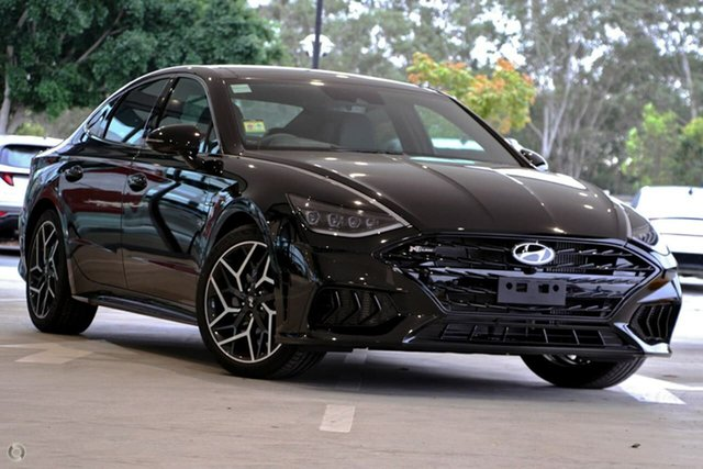 New Hyundai Sonata DN8.V1 MY21 N Line DCT Oakleigh, 2021 Hyundai Sonata DN8.V1 MY21 N Line DCT Black 8 Speed Sports Automatic Dual Clutch Sedan