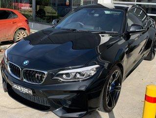 2017 BMW M2 F87 LCI D-CT Black Sapphire 7 Speed Sports Automatic Dual Clutch Coupe.