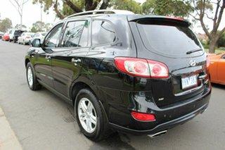 2011 Hyundai Santa Fe CM MY11 Elite Black 6 Speed Sports Automatic Wagon.