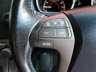2007 Toyota Kluger GSU40R KX-S 2WD Black 5 Speed Sports Automatic Wagon