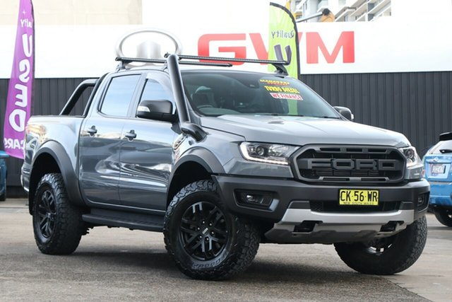 Used Ford Ranger PX MkIII 2019.00MY Raptor Homebush, 2019 Ford Ranger PX MkIII 2019.00MY Raptor Silver 10 Speed Sports Automatic Double Cab Pick Up