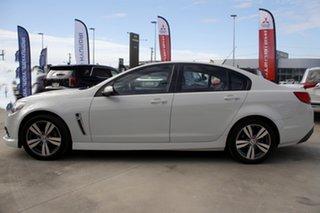 2013 Holden Commodore VF MY14 SV6 White 6 Speed Sports Automatic Sedan