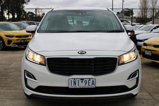 2018 Kia Carnival YP MY19 S White 8 Speed Sports Automatic Wagon.