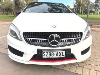 2013 Mercedes-Benz A-Class W176 A250 D-CT Sport White 7 Speed Sports Automatic Dual Clutch Hatchback.
