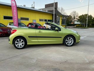 2007 Peugeot 207 A7 CC Green 4 Speed Sports Automatic Cabriolet