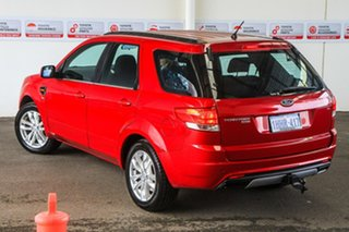 2011 Ford Territory SZ TS (4x4) Red 6 Speed Automatic Wagon