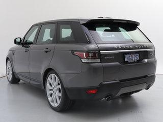 2016 Land Rover Range Rover LW MY16 Sport 3.0 TDV6 SE Corris Grey 8 Speed Automatic Wagon