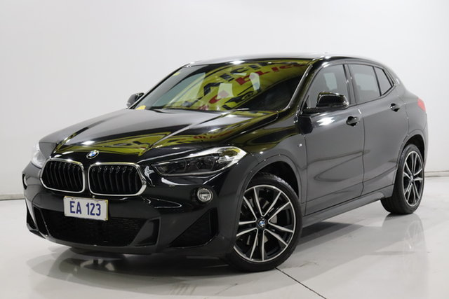 Used BMW X2 F39 sDrive20i Coupe DCT Steptronic M Sport Brooklyn, 2018 BMW X2 F39 sDrive20i Coupe DCT Steptronic M Sport Black 7 Speed Sports Automatic Dual Clutch