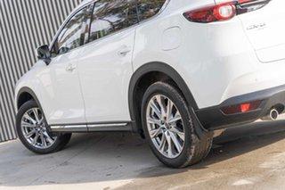 2018 Mazda CX-8 KG4W2A Asaki SKYACTIV-Drive i-ACTIV AWD White 6 Speed Sports Automatic Wagon