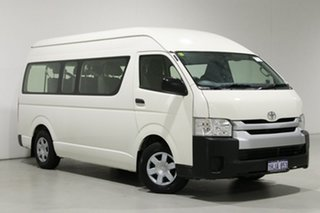 2016 Toyota HiAce KDH223R MY16 Commuter White 4 Speed Automatic Bus.