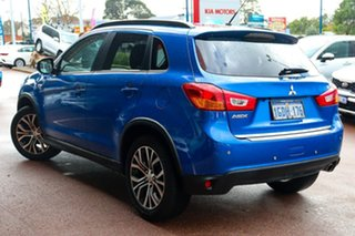2016 Mitsubishi ASX XB MY15.5 XLS 2WD Blue 6 Speed Constant Variable Wagon.