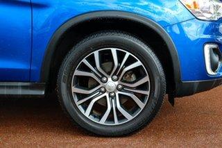2016 Mitsubishi ASX XB MY15.5 XLS 2WD Blue 6 Speed Constant Variable Wagon