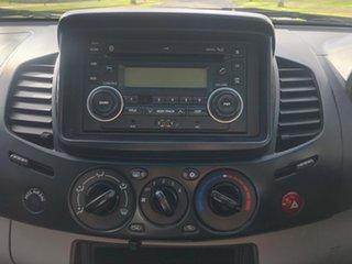 2013 Mitsubishi Triton MN MY13 GLX Double Cab Grey 5 Speed Manual Utility