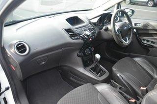 2016 Ford Fiesta WZ Sport White 5 Speed Manual Hatchback