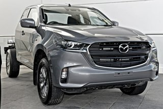 2021 Mazda BT-50 TFS40J XT Freestyle Grey 6 Speed Sports Automatic Cab Chassis.