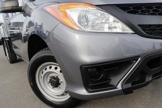 2012 Mazda BT-50 UP0YD1 XT 4x2 Titanium Grey 6 Speed Manual Cab Chassis.