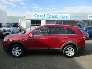 2016 Holden Captiva CG MY16 7 LS (FWD) Red 6 Speed Automatic Wagon.