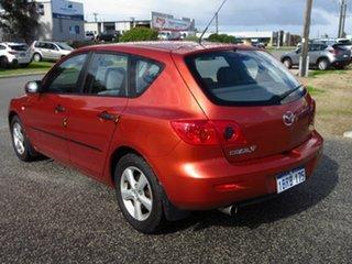 2004 Mazda 3 BK Neo Orange 5 Speed Manual Hatchback