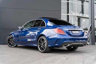 2021 Mercedes-Benz C-Class W205 801MY C300 9G-Tronic Brilliant Blue 9 Speed Sports Automatic Sedan.