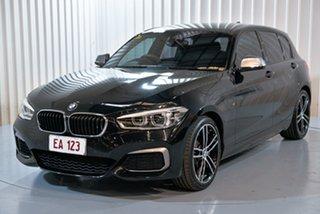 2018 BMW 1 Series F20 LCI-2 M140i Black 8 Speed Sports Automatic Hatchback.
