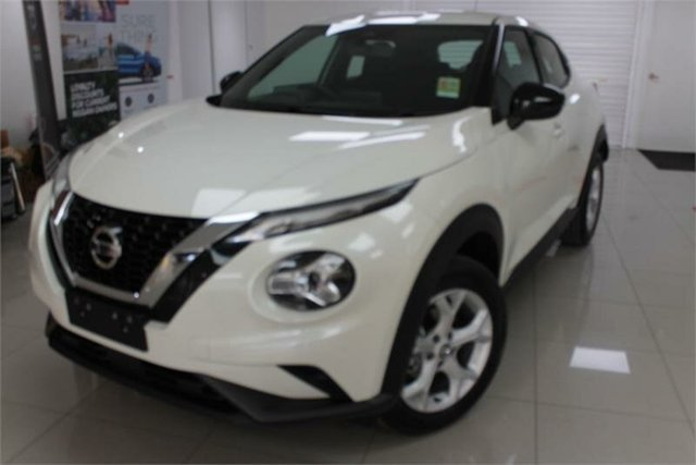 New Nissan Juke F16 ST , 2021 Nissan Juke F16 ST Ivory Pearl 7 Speed Sports Automatic Dual Clutch Hatchback