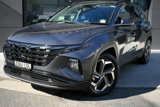 Demo Hyundai Tucson NX4.V1 MY22 Highlander 2WD Brookvale, 2021 Hyundai Tucson NX4.V1 MY22 Highlander 2WD Titan Gray 6 Speed Automatic Wagon