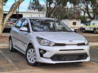 2020 Kia Rio YB MY20 S Silver 4 Speed Sports Automatic Hatchback.