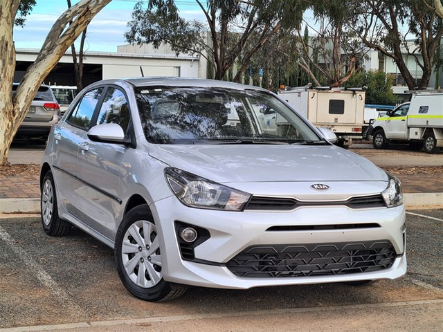 Used Kia Rio YB MY20 S St Marys, 2020 Kia Rio YB MY20 S Silver 4 Speed Sports Automatic Hatchback