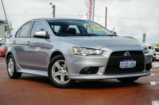 2014 Mitsubishi Lancer CJ MY15 ES Sport Silver 6 Speed Constant Variable Sedan.
